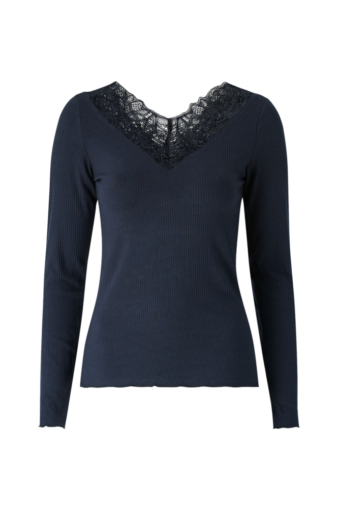 Y.A.S Top yasElle LS V-neck Top