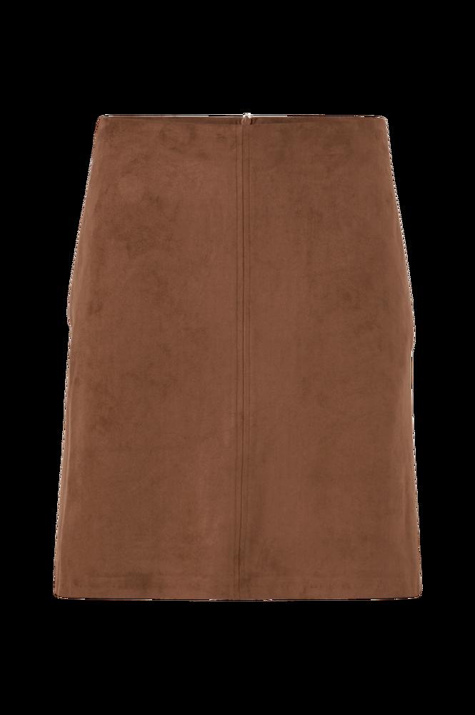 Esprit Nederdel i blød imiteret ruskind