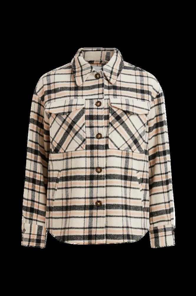 Vila Skjortejakke viRubi Check Shirt Jacket