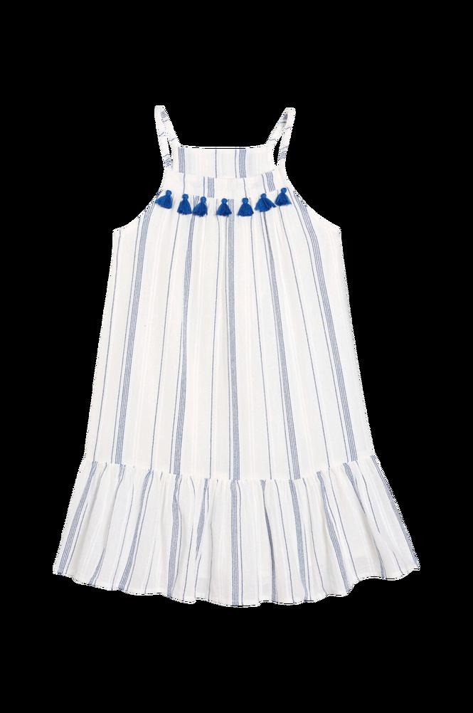 La Redoute Stribet kjole med smalle skulderstropper