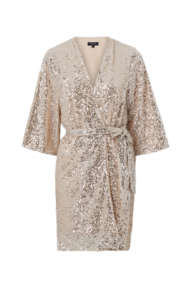 Selected Femme Kimono slfLucille 3/4 Sequins