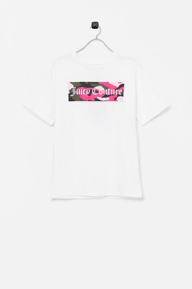 Juicy Couture Top Juicy Camo Print Boyfriend Tee