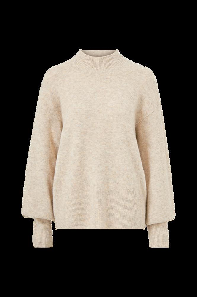 Cream Trøje crAngha Knit Turtleneck