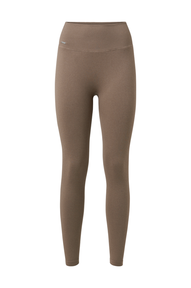 Aim'n Træningstights Espresso Ribbed Seamless Tights