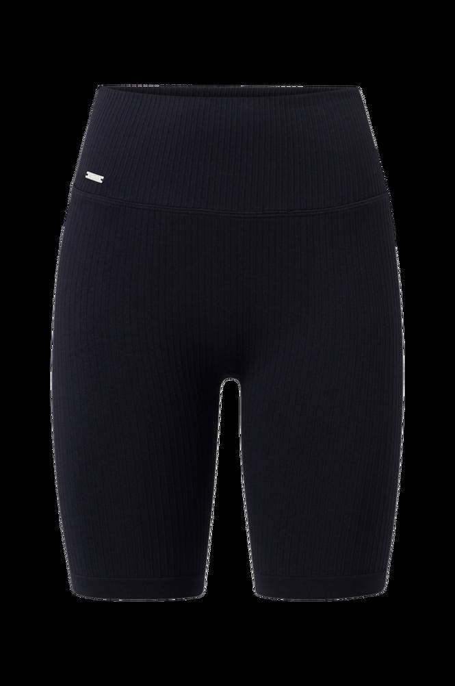 Aim'n Cykelbukser Black Ribbed Seamless Biker Shorts