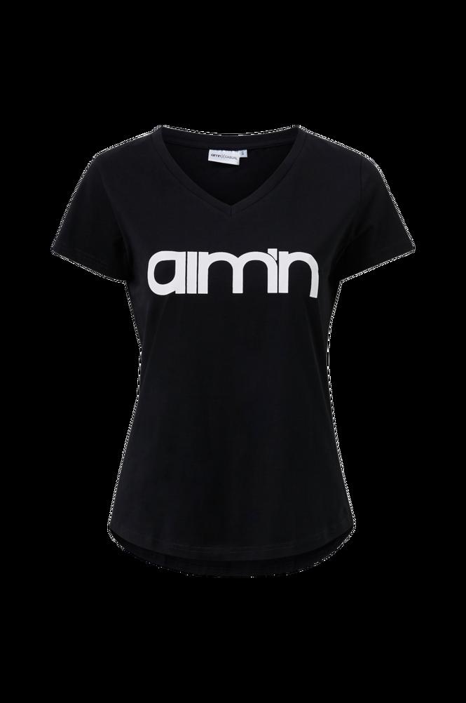 Aim'n Top Black Logo t-shirt 2.0