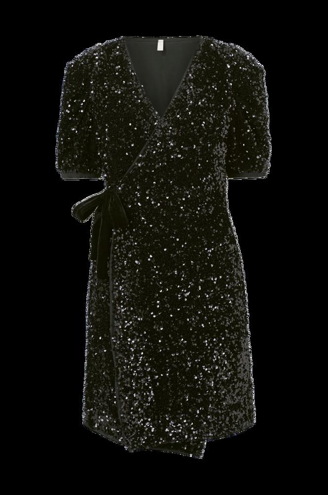 Y.A.S Slå om-kjole yasSequella 2/4 Wrap Dress