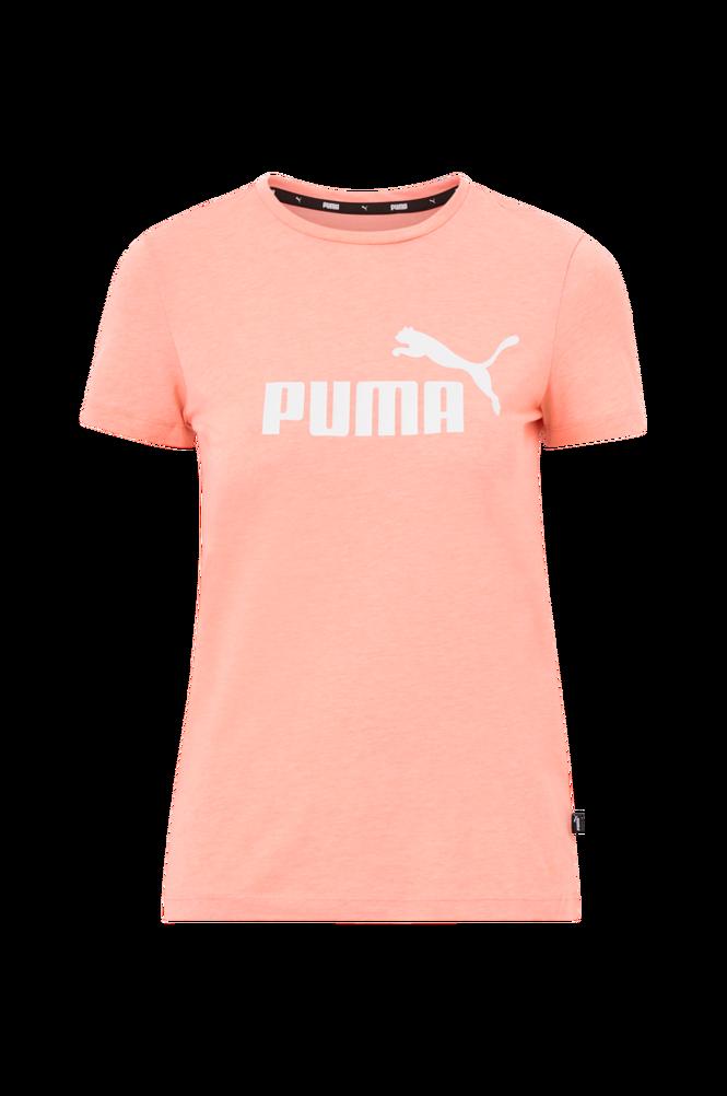 Puma Top ESS Logo Heather Tee