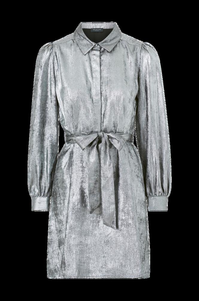 Selected Femme Kjole slfAurelia LS Short Shirt Dress