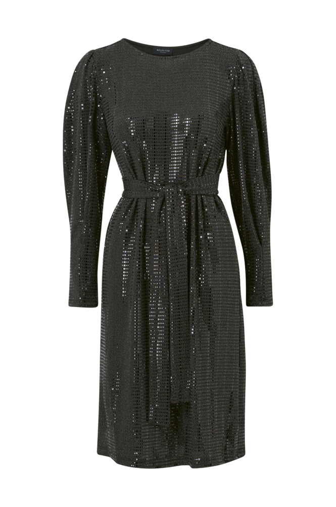 Selected Femme Kjole slfSandra LS Knee Dress
