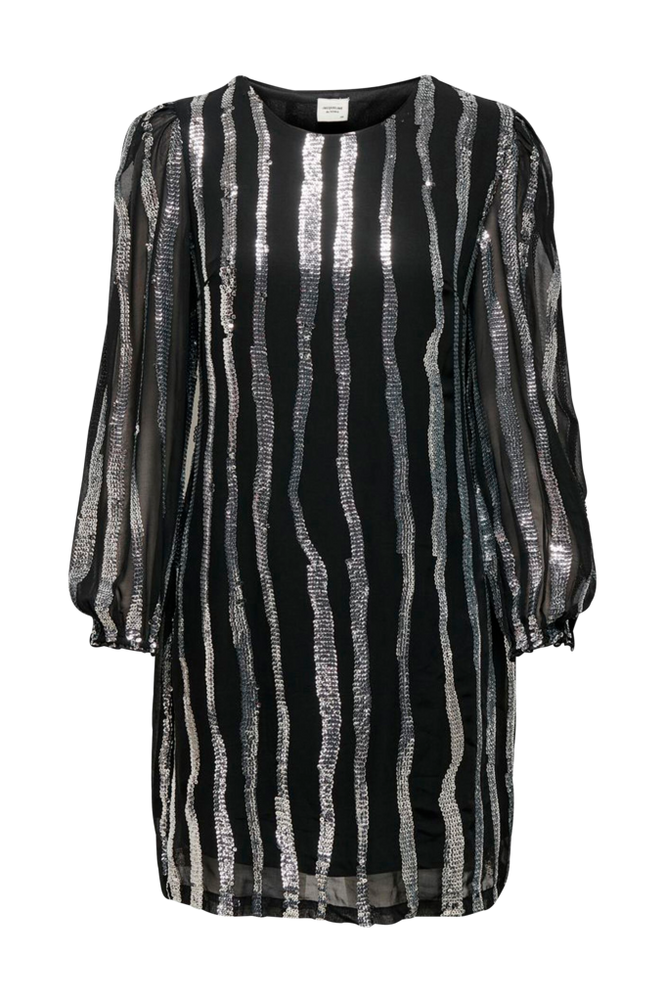 Jacqueline de Yong Kjole jdyJustin L/S Sequins Dress Wvn