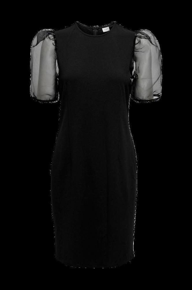 Jacqueline de Yong Kjole jdyBernadette S/S Puff Sleeve Dress Jrs