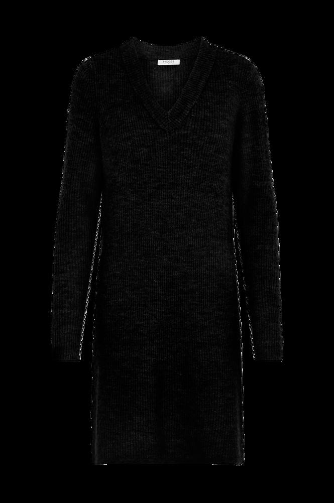 Pieces Kjole pcEllen LS V-neck Knit Dress