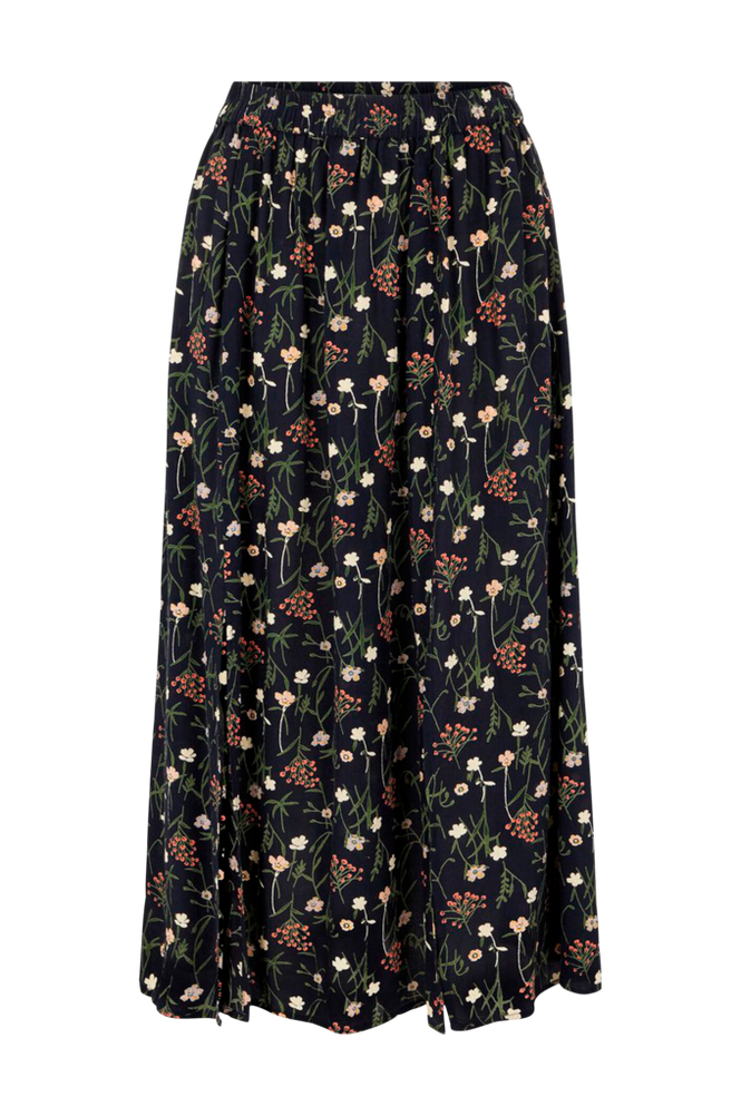 Pieces Nederdel pcSkylar HW Midi Skirt