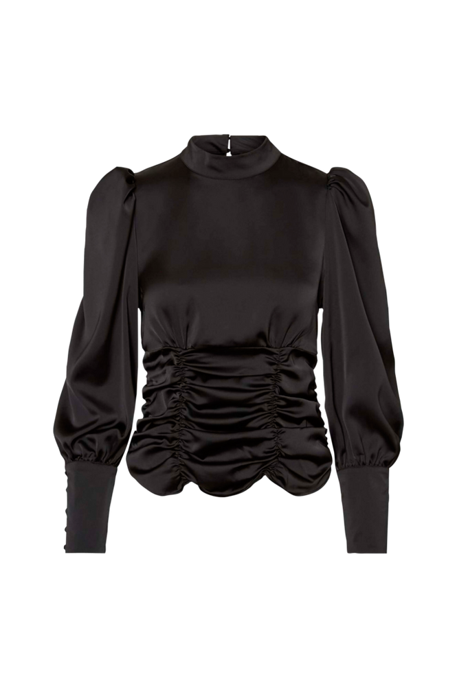 Vero Moda Bluse vmJuva L/S High Neck Top