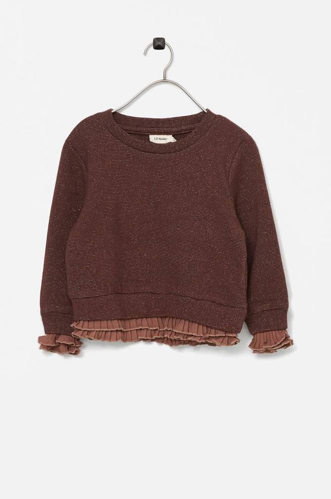 Lil'Atelier Sweatshirt nmfEisa LS Short Sweat Lil