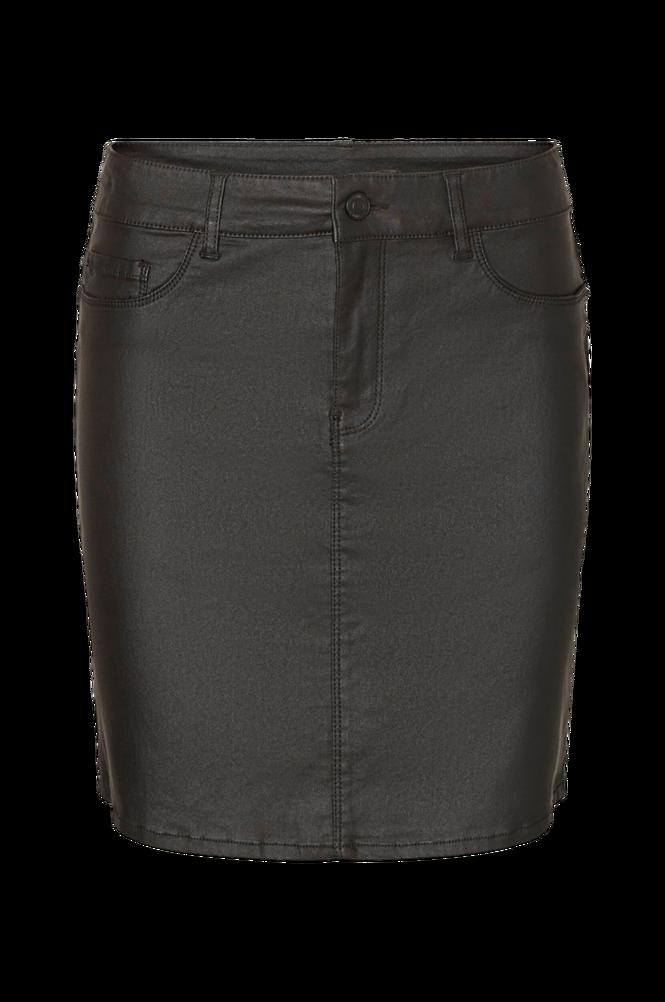 Vero Moda Nederdel vmSeven MR Short Coated Skirt