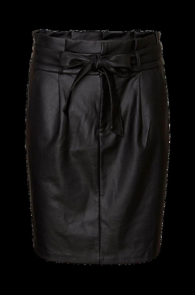 Vero Moda Nederdel vmEva HR Paperbag Short Coated Skirt