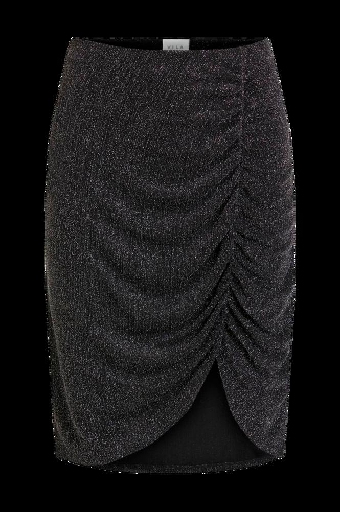 Vila Nederdel viShinni HW Glitter Skirt