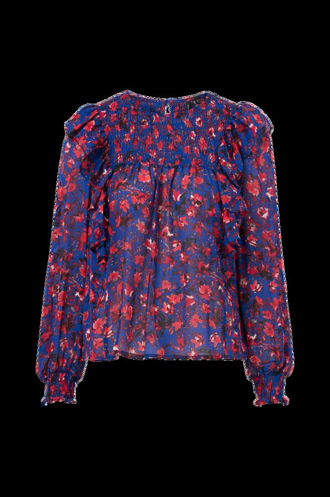 Vero Moda Bluse vmMagda L/S Frill Smock Top