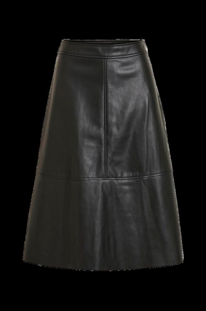 Vila Nederdel viNalia Coated Midi Skirt