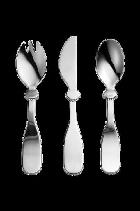 Children's Cutlary set - Silver