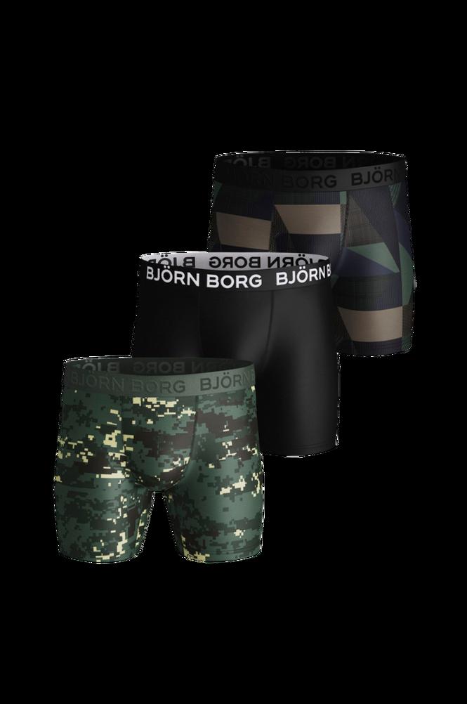 Björn Borg Træningsunderbukser Per BB Digital Woodland 3-pak