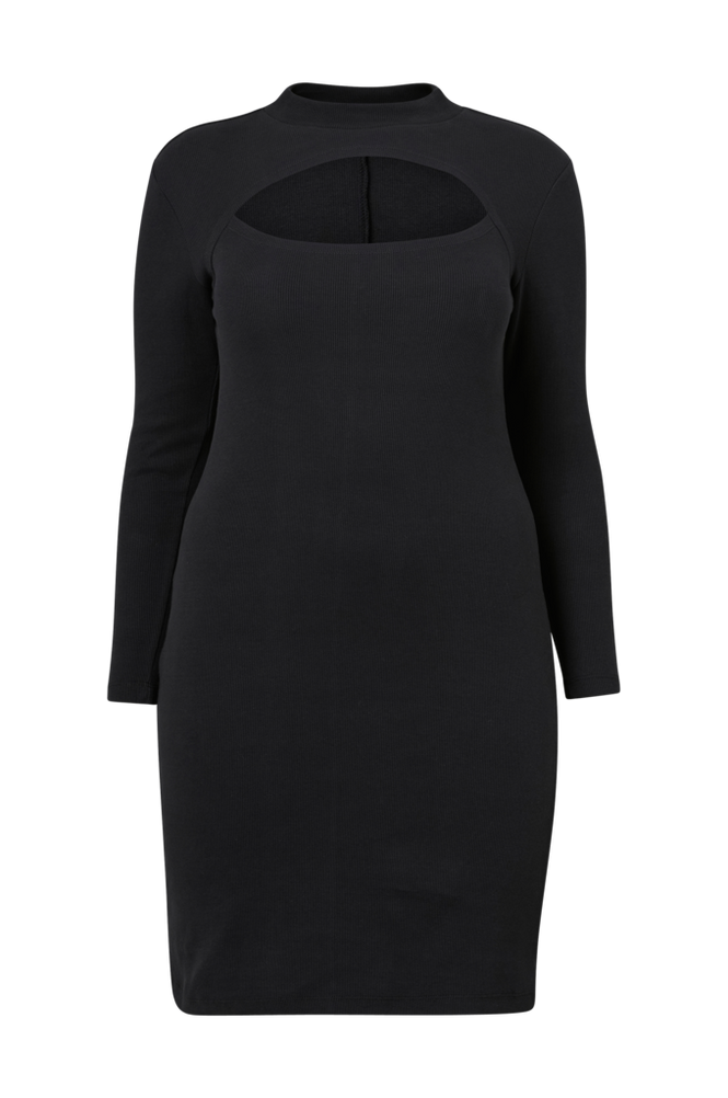 Vero Moda Curve Kjole vmSandro LS AK Dress - S Curve