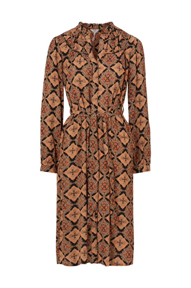 Object Skjortekjole objLisa L/S Shirt Dress