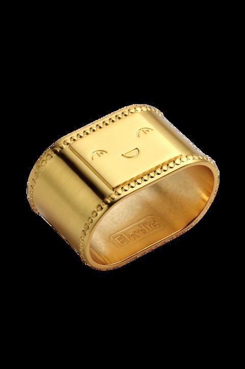 Napkin Ring - Matt gold/Brass