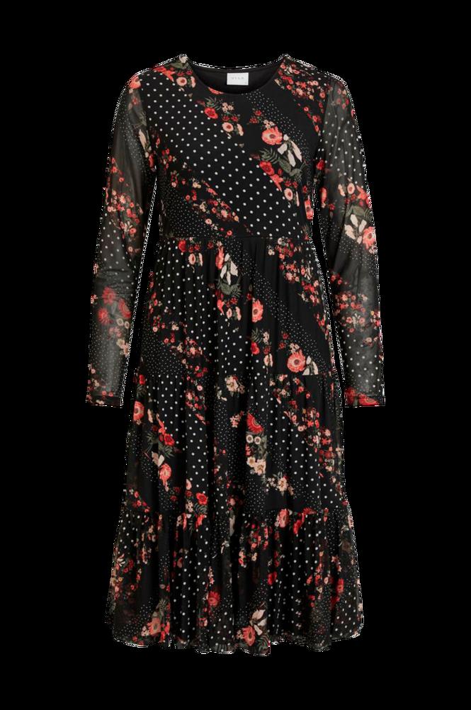 Vila Kjole viMasti L/S Midi Dress