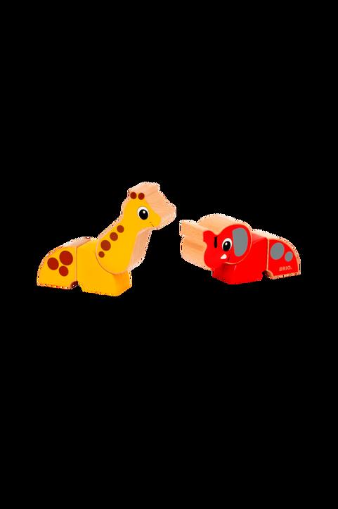 30284 Magnetisk Elefant Och Giraff