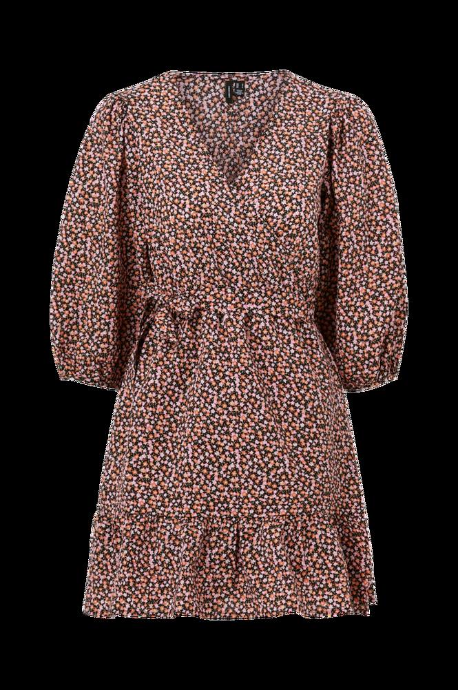 Vero Moda Slå om-kjole vmFlora 2/4 Wrap Dress