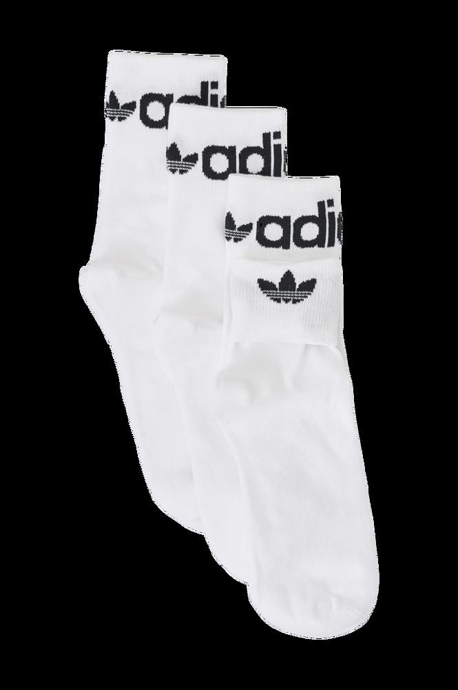 adidas Originals Strømper Fold-Cuff Crew Socks 3-pak