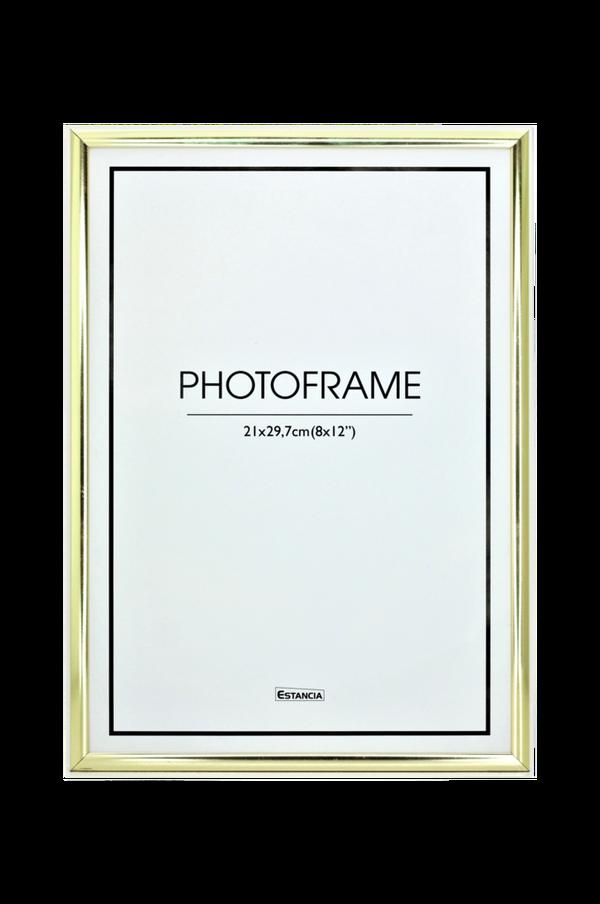 Bilde av Aluminiumsramme, blank med pleksiglass - 30151