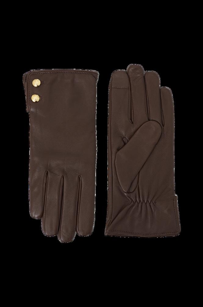 Lauren Ralph Lauren Skindhandsker Leather Button Glove