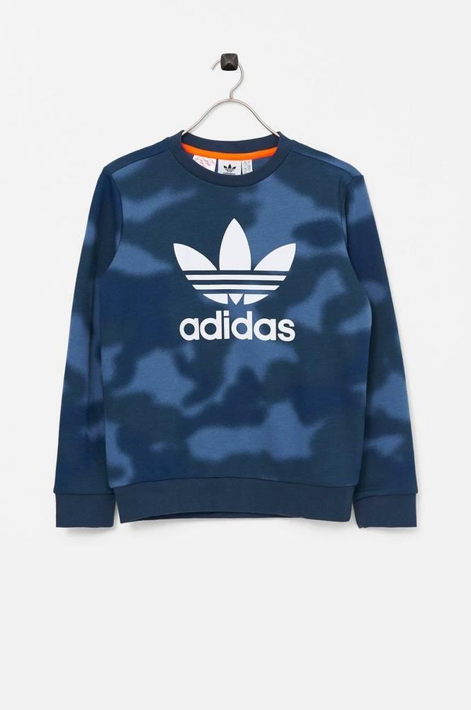 adidas Originals Sweatshirt Allover Print Camo Crew
