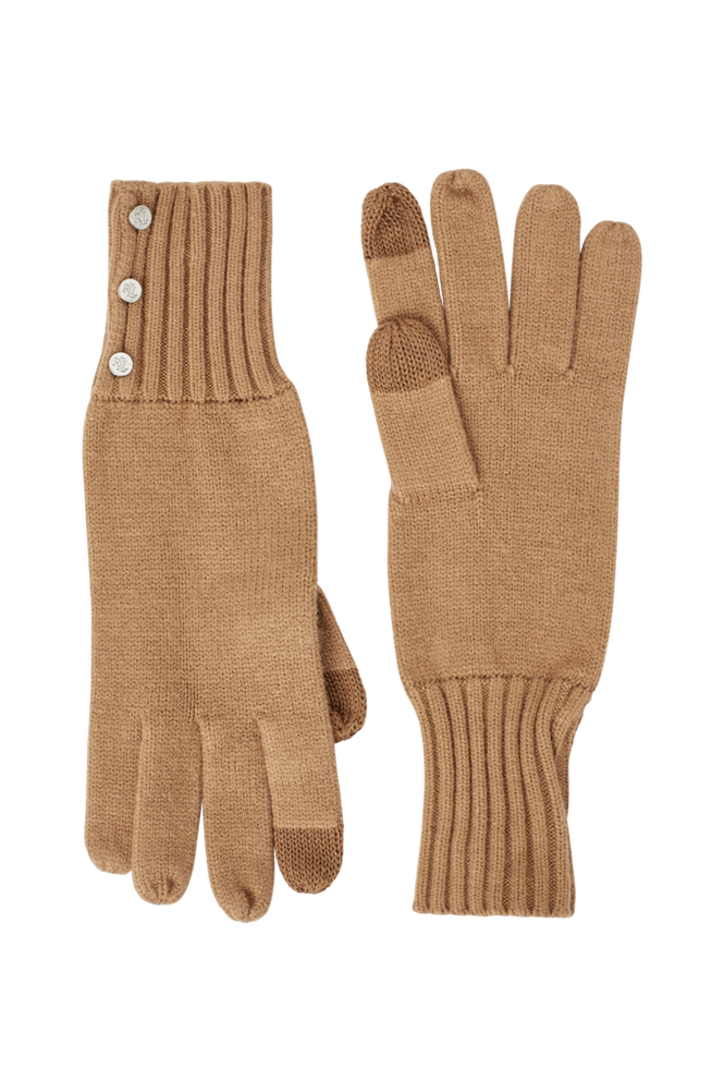 Lauren Ralph Lauren Fingervanter 3 Button Knit Glove