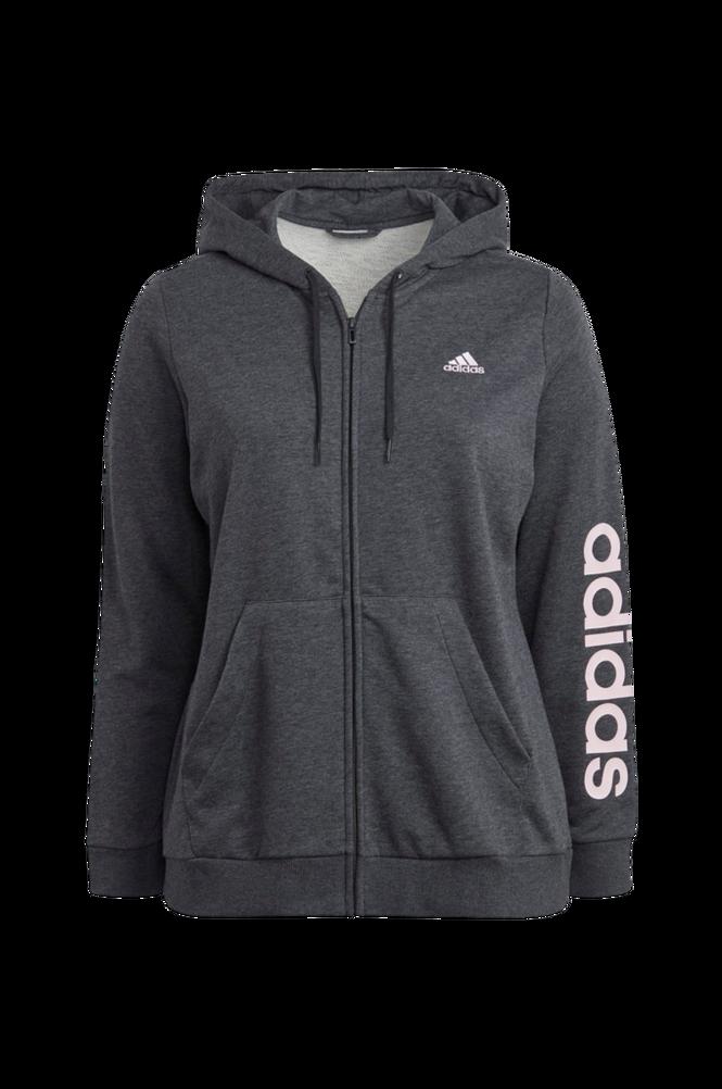 adidas Sport Performance Hættetrøje Essentials Logo Full-zip Hoodie Plus