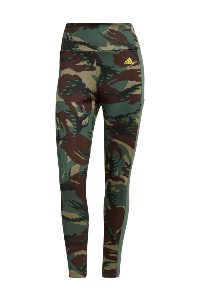 adidas Sport Performance Træningstights Aeroready Designed 2 Move Camouflage High-Rise 7/8 Tights