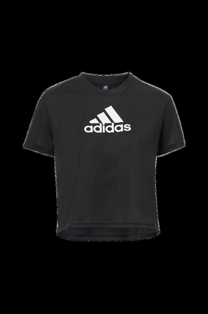 adidas Sport Performance Træningstop Crop Logo Sport Shirt