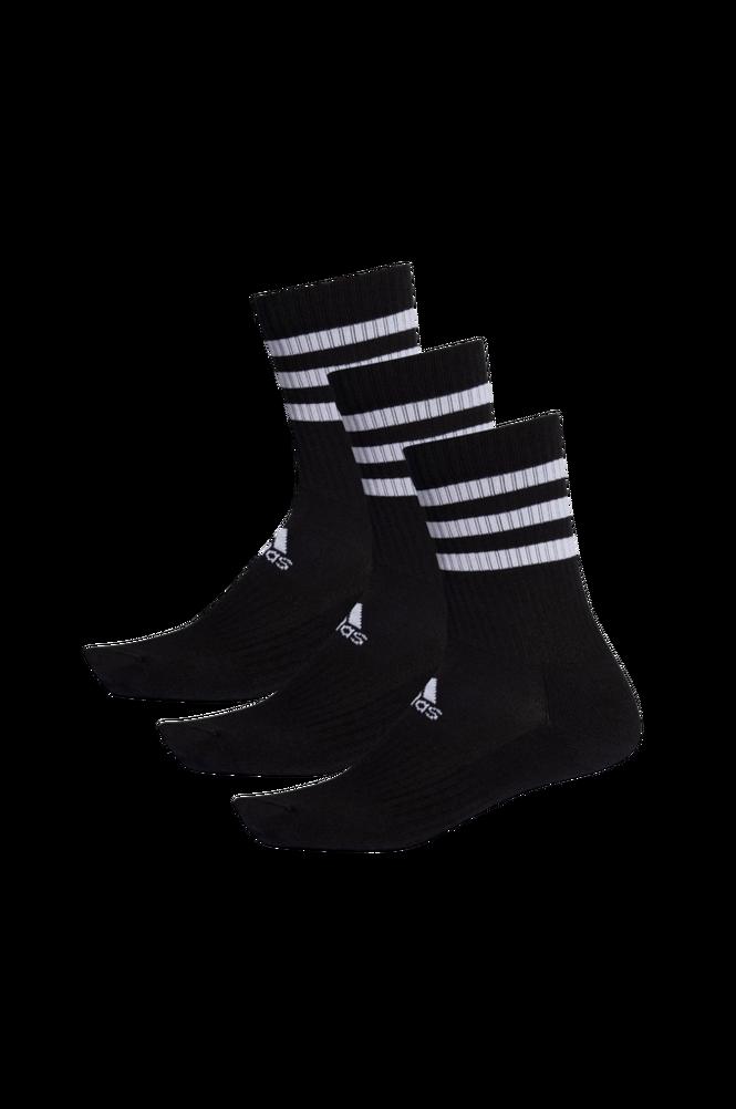 adidas Sport Performance Strømper 3-Stripes Cushioned Crew Socks 3-pak