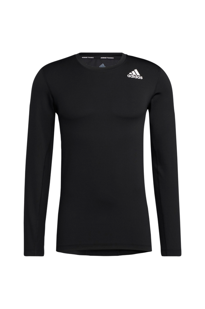 adidas Sport Performance Trænings-T-shirt Techfit Compression Long Sleeve Tee