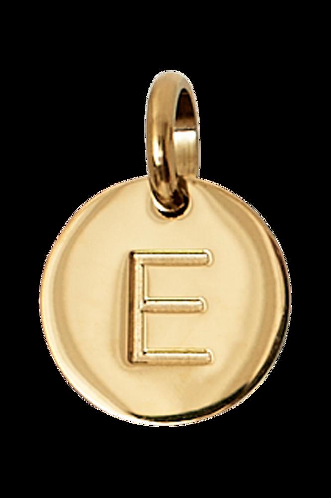 Edblad Vedhæng Charmentity A-Ö Gold