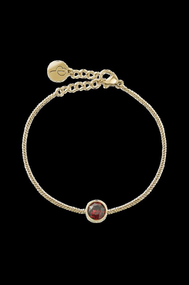 Edblad Armbånd Diana Bracelet Plum Gold