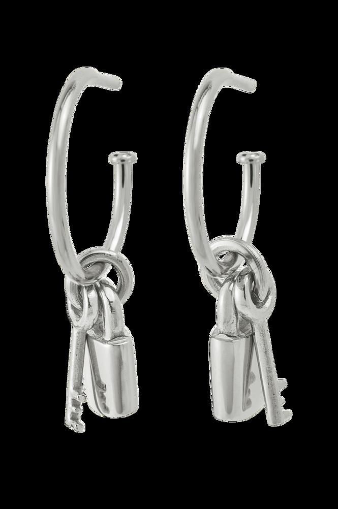 Edblad Øreringe Secure Earrings Steel