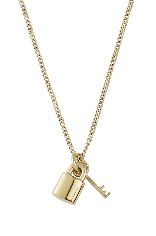 Edblad Halskæde Secure Necklace Gold
