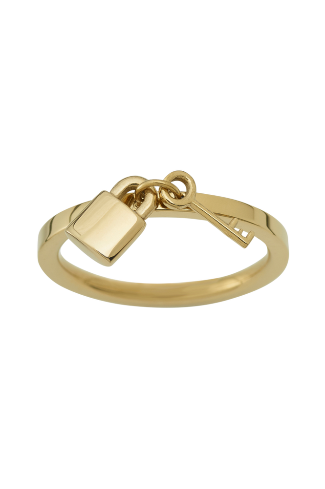 Edblad Ring Secure Gold