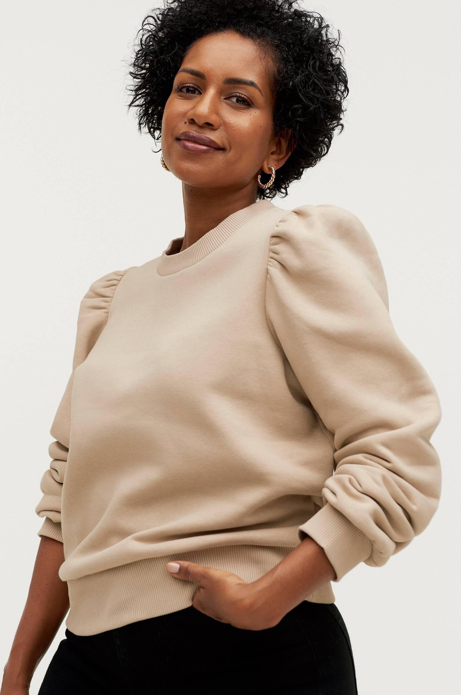 Second Female - Sweatshirt Carmella Sweat - Natur