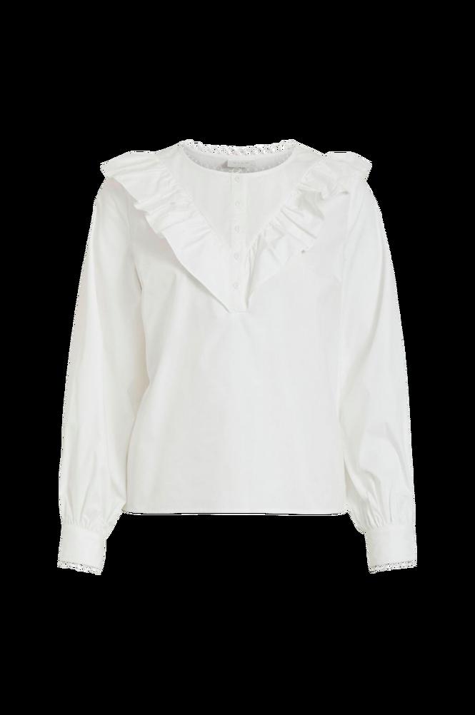Vila Bluse viSazu L/S Ruffle Shirt